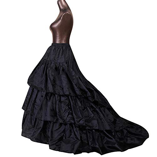 Kinandpri Crinoline Petticoat Onderrok 3 Hoops Rok Ball Gown Rok Trompet Slip voor Trouwjurk