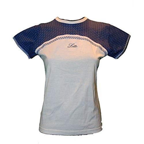 Lotto T-Shirt Provance junior, Mädchen, Gr. M (152cm), Weiss/blau
