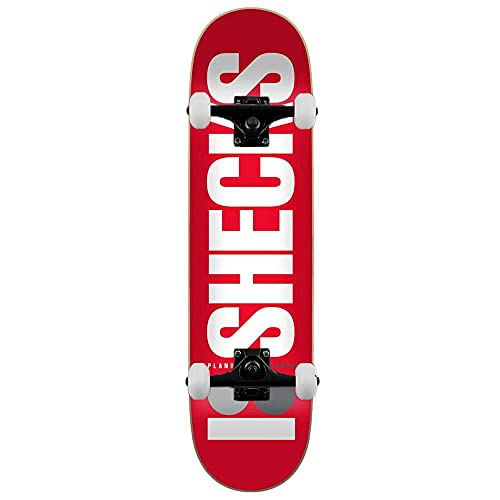 Plan B OG Sheckler - Skateboard completo, 20,6 cm, colore: Rosso