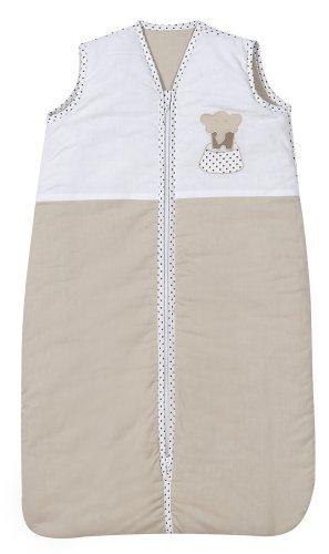 Schardt 133400000 3/710 - Sacco nanna con elefante, 70/90 cm, colore: Beige