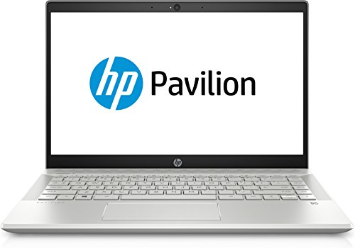 HP Pavilion 14-ce0001ng (14 Zoll/Full HD IPS) Notebook (Intel Core i5-8250U, 1 TB HDD+ 128 GB SSD, 8 GB RAM, Nvidia GeForce MX150 2GB, Windows 10 Home 64) Silber