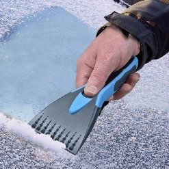 Bosmere Winter Care Windscreen Ice Scraper with Soft Grip, Multi-Coloured,...