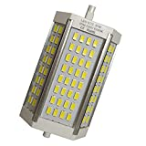 R7s LED 118mm 30w Led Regulable. Color Blanco Cálido (3000K). 3000 Lumenes. Sin ventilador. A++