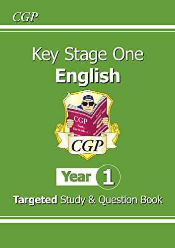 New KS1 English Targeted Study & Question Book - Year 1