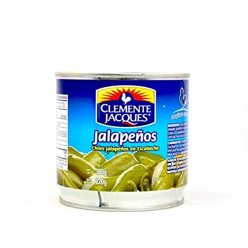 Chiles Jalapeños enteros en lata - 380g