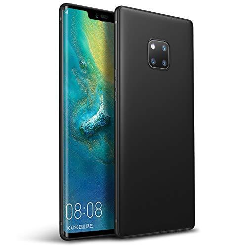 Olliwon Huawei Mate 20 Pro Hülle, Dünn Leichte Schutzhülle Schwarz Silikon TPU Bumper Hülle Cover für Huawei Mate 20 Pro