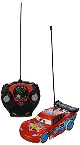 Majorette - 213089590 - voiture radiocommandée RC Disney Cars Flash Mc Queen - Ice Racers - Echelle 1/24
