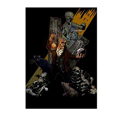 H/M Carteles E Impresiones De Retratos Horribles Cuadro De Arte De Pared Lienzo Pintura Dormitorio Sala De Estar Decoración del Hogar 50X70Cm -Gl2958