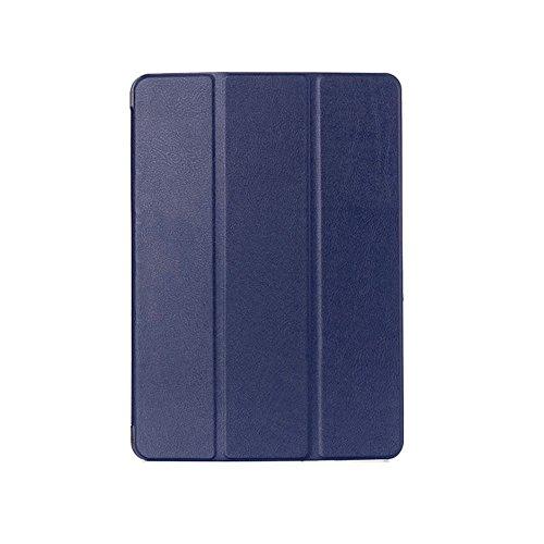 Kepuch Custer Cover per Samsung Galaxy Tab A 9.7 T550 T555C P550 P555C,PU-Pelle Case Custodia per Samsung Galaxy Tab A 9.7 T550 T555C P550 P555C - Blu