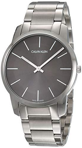 Calvin Klein Reloj Analógico de Cuarzo para Hombre con Correa de Acero Inoxidable - LDF-30-4AEF