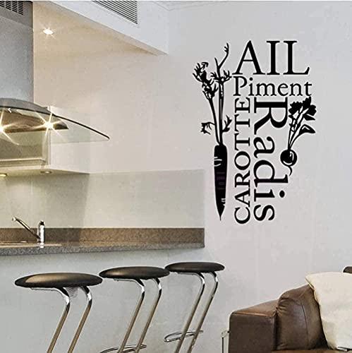 Pegatinas De Pared Decoración De Interiores Arte De Pared Papel Pintado Azulejos De Cocina Decoración Del Hogar 85Cm * 55Cm