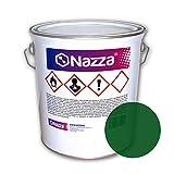 Pintura para Suelos de Hormigón SIN Disolvente | Pintado de suelos de garajes, factorías y almacenes | NO INCLUYE CATALIZADOR | Color Verde | Envase de 4 Kg.