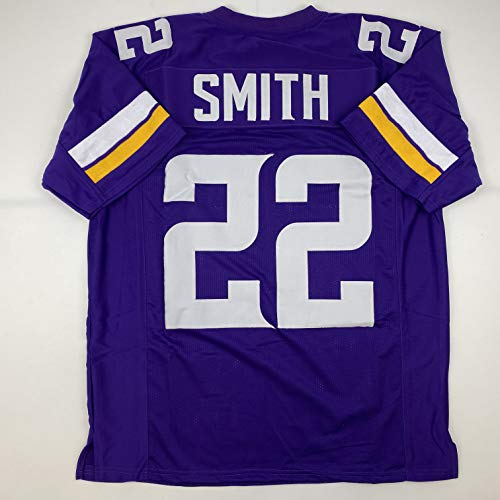 Unsigned Harrison Smith Minnesota Purple Custom Stitched Football Jersey Size Men's XL New No Brands/Logos