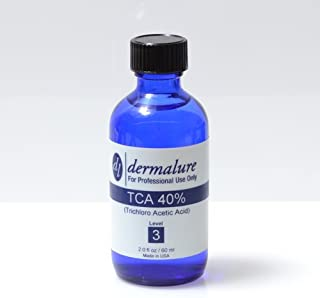 Trichloroacetic Acid - TCA Peel 40% Medical Grade 1oz. 30ml (Level 3 pH 0.8)