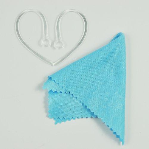 Haude Lot de 2 crochets de rechange pour écouteurs intra-auriculaires Transparent