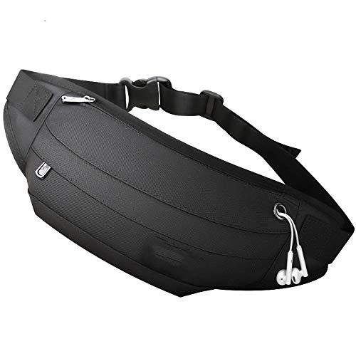 Tailletas voor heren, schoudertas voor messagers, multifunctioneel, klein, licht, sportief hardloopdoek, borstzak, getikte kaart