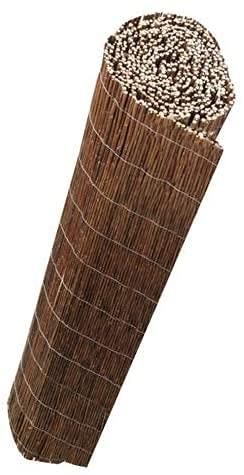 Mugar- Mimbre sin Pelar Premium- CERRAMIENTO Varias Medidas.Cañizo Mimbre Natural Grueso. Elija LA Medida (Mimbre 1 x 5 m)