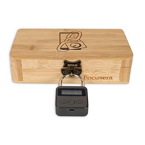 Focusera-Box mit Zeitschloss gegen Ablenkung durch Smartphone: Kontrolle über Handysucht & weniger Displayzeit – Digital Detox leicht gemacht (Standard)