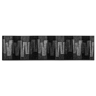 Floordirekt Läufer Teppich Brücke Teppichläufer Veneto anthrazit grau