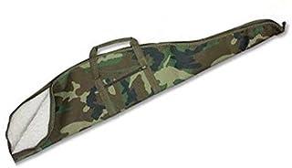 comprar comparacion Funda para carabinas con espacio para visor verde camuflaje - 114 cm