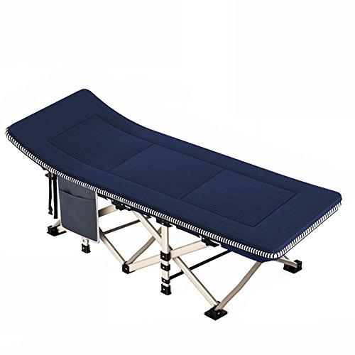 KFXL yizi Lit se pliant multifonctionnel en métal de renfort créatif/chaise de dossier pratique réglable de Siesta de bureau/inclinables extérieurs portatifs adultes (Couleur : D)