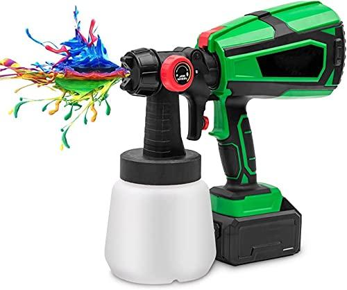 wsbdking Rociador de Pintura, Pistola de Pintura eléctrica, con 3 Patrones de...