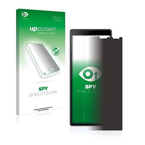 upscreen Pellicola Privacy Compatibile con Sony Xperia 10 Anti-Spy