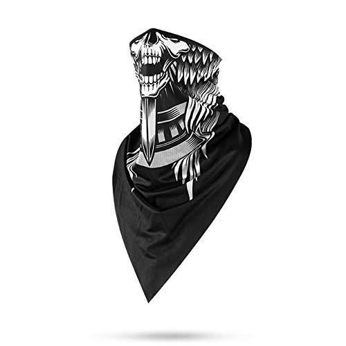 MRlegendary Seamless Neck Gaiter Shield Bufanda Bandana Mascarilla Protección UV Sin Costuras para Hombres Mujeres Deportes Al Aire Libre Ciclismo Senderismo Correr Anti-Niebla Anti-Partículas