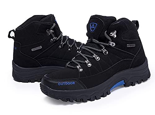 Botas de Senderismo Hombre Impermeables Zapatillas de Trekking Montaña al Aire Trail Invierno Botines Zapatos