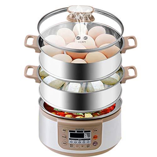Cuiseur vapeur électrique, domestique, multifonctions, grande capacité, cuit vapeur intelligent/cuit vapeur/légumes cuits à la vapeur.