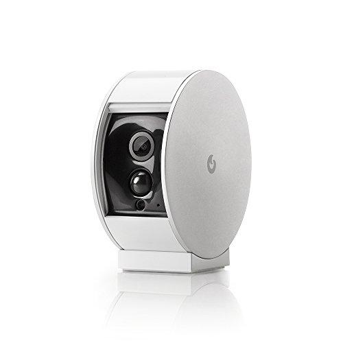 Myfox Sicherheitskamera mit Motorblende, funk Überwachungskamera mit Bewegungsmelder und Videoaufzeichnung, WLAN, vom Smartphone steuerbar mithilfe einer Android-/iOS-App, BU4001