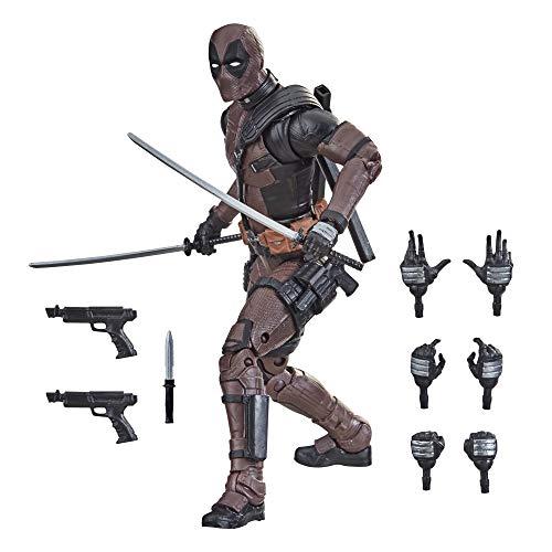 Hasbro F0210 Marvel Legends Series 15 cm große Premium Deadpool Action-Figur aus dem zweiten Deadpool Film mit 11 Accessoires, ab 14 Jahren