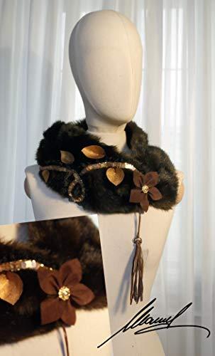 scaldacollo pelliccia ecologica