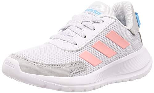 adidas Tensaur Run K Laufschuhe, Dash Grey/Glory Pink/Bright Cyan, 36 EU