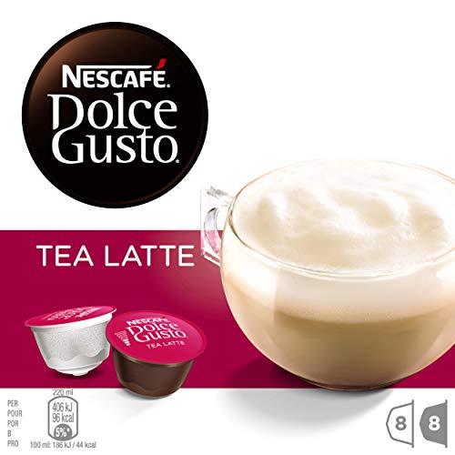 NESCAFÉ Dolce Gusto Tea Latte | Cápsulas de Té - 16 cápsulas de café