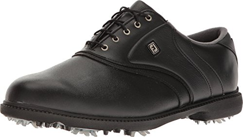 FootJoy Men's Originals Golf Shoes Black 14 M US