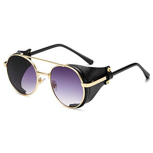 Sunglasses Mode Steampunk Sonnenbrille Designer Frauen Männer Vintage Runde Sonnenbrille Sonnenbrille Uv400 Brille 03