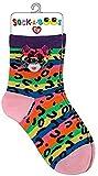 Ty Mädchen Dotty Leopard Socken, Mehrfarbig, One Size