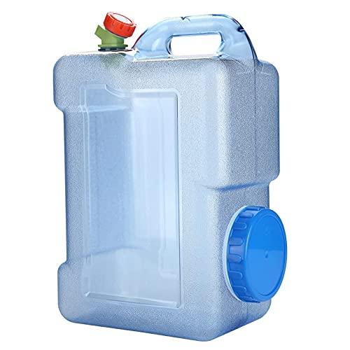 Contenedor De Agua Jugo Bebidas Tanque De Plástico Tour Al Aire Libre Tour Portátil Bucking Water Bucket Coche Almacenamiento De Agua Jug Office Frigorífico Dispensador De Escritorio Con Gri(Size:18L)