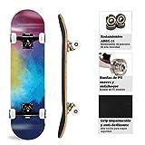Zoom IMG-1 tackly skateboard professionale ragazza bambino