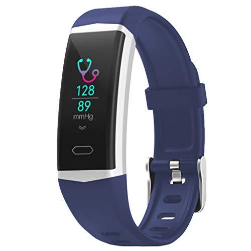 Cloodut - Reloj Deportivo para Hombre y Mujer (Android, iOS, Fitness, calorías, Muy cómodo)