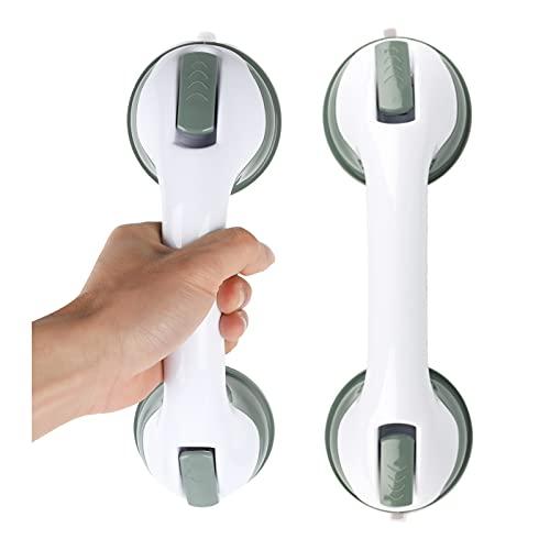 Faziango Haltegriff mit Saugnapf 2 Stück Mobiler Badewannengriff Haltegriff Extra Starker Sicherheitshandgriff für Kinder und ältere Menschen