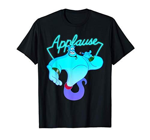 Disney Aladdin Genie Applause Neon Light Maglietta