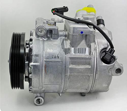 GOWE Compresor de CA automático para BMW E60/E66/760/520I/525I/530I/525D/535D/730D/730I 64509174805/64526953474/248300-0990/447150-0390/4/4/4/4 4719