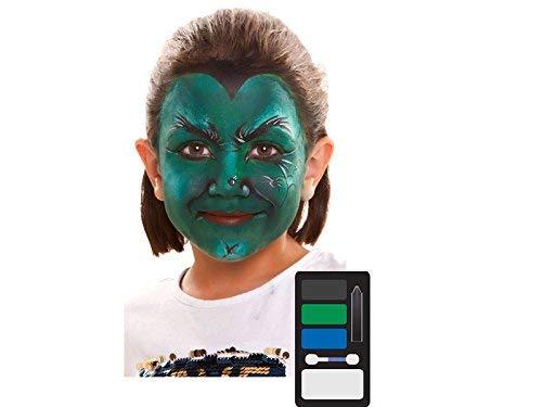 Desconocido My Other Me Me-207049 Kit Maquillaje Infantil Bruja, Talla única (Viving Costumes 207049)