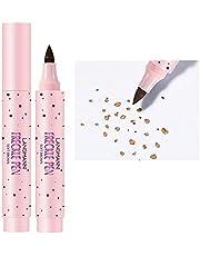 Sproetenpen, Natuurlijke Sproetpen Kunstmatige Sproeten Make-up Pen Langdurige Waterdichte Sproet Make-up Tool, Waterdicht Langdurige Zachte Punt Sopt-pen Voor Natuurlijke,Moeiteloze Sunkissed-make-up