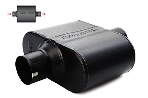 Flowmaster Super 10 Series SS Muffler 2.5' Center Inlet/Outlet 842515 1 Chamber