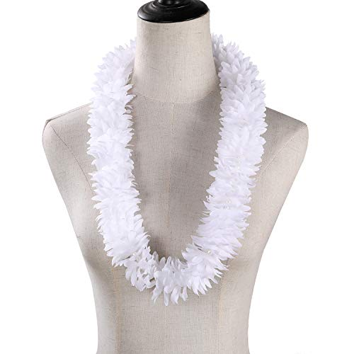 ONETOPS 2Pcs White Hawaiian Flower …