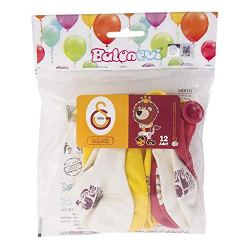 Euro Flora Balloon Galatasaray 12 Pack