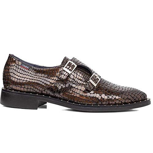 CALLAGHAN - Zapatos INGLÉS Casual - Cuero para: Mujer Color: Hawaii Marron Talla: 39